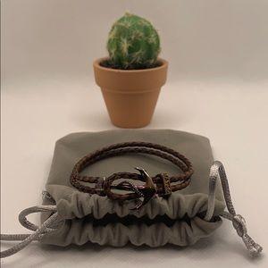 ⭐️Host Pick⭐️ Nautical anchor bracelet